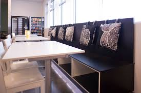 officeadorable office break room design with round shape stripped rug and cool grey chair adorable office decorating ideas shape