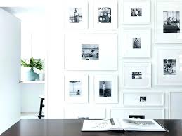 eye candy gallery walls done right white frame wall square with double mat by studio decor