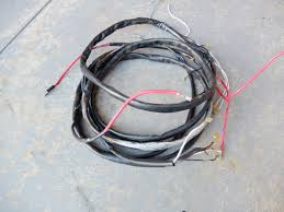 "replace ""main"" wiring harness 1966 vw beetle project vw blvd you can see where i taped the tracer rope to the old harness i just cut the rope once it was pulled through instead of trying to untape it from the old"