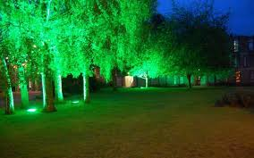 outdoor party lighting hire. hire outdoor tree lighting festoon party red occasions