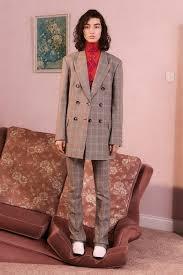 plaid pantsuit women s suit