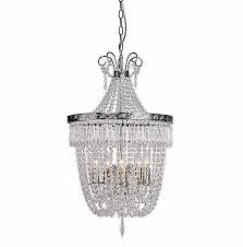 debenhams madeline crystal glass antique brass chandelier light