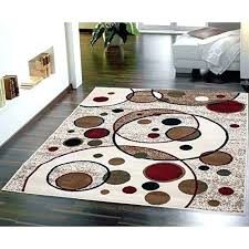 beige area rug modern circles design rugs red black brown tan carpet new and outdoor striped