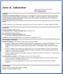 Manufacturing Engineer Resume Awesome Mechanical Engineering Resume Classy Manufacturing Engineer Resume