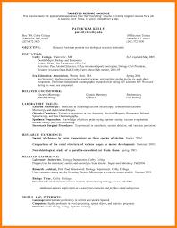 Resume Cv Tar Ed Resume Template Tar Ed Resume Targeted