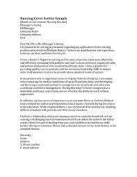 cover letter for nursing example of cover letter for nursing job 1