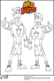Small Picture Wild Kratts Coloring Pages GetColoringPagescom