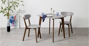 compact dining furniture. A Compact Dining Table, In Dark Stain Oak And Grey Furniture O