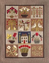 garden quilt. At Home In The Garden Quilt U