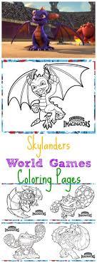 Skylanders World Games Coloring Pages