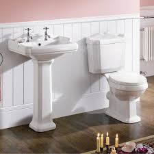Classic Bathroom Suites Synergy Classic Style Close Coupled Wc Toilet And Basin With