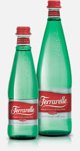 ferrarelle water bottles