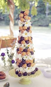 Donut Croquembouche At Wedding Can You Saaaay Munchkins
