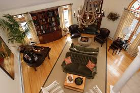 bassett furniture quality Porch Traditional with area rug ceiling