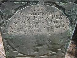 """Mary """"Polly"""" Bryant Jones (1810-1896) - Find A Grave Memorial"""