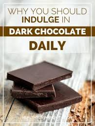 healthy dark chocolate. Unique Healthy Why You Should Indulge In Dark Chocolate Daily And Healthy