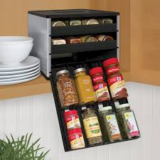 Spice Racks For Kitchen Cabinets Drawer Inspiring Sliding Spice Racks For Kitchen