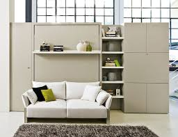 view in gallery murphy bed wall unit with sofa storgae and display shelves