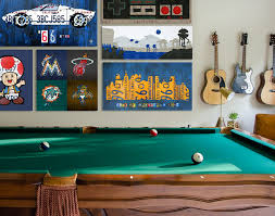 game room wall art from recycled materials by design turnpike on game room wall art ideas with game room wall art ideas by design turnpike