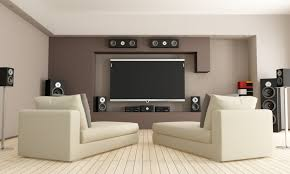 Creative Home Theatre Designs For Bedroom With Cheap Speaker System