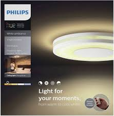 Philips Lighting Hue Led Wall And Ceiling Light Being Eec Led A E Built In Led 32 W Warm White Neutral White Da
