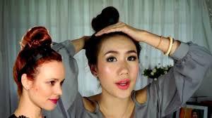 How To มดผมจกงายๆ Easy Bun Hair Tutorial