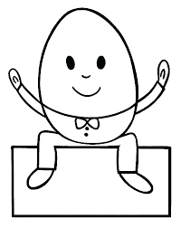 coloring page outline pages free printable humpty dumpty book to and pr coloring sheet printable pages images print humpty dumpty free