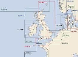 Busse Yachtshop Navionics Kartenkatalog Nordsee England Xl