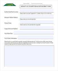 42 Free Incident Report Templates Pdf Word Free
