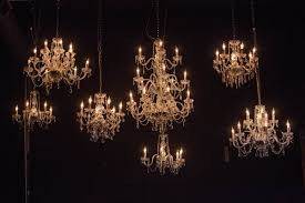 crystal chandeliers photo by gregory byerline