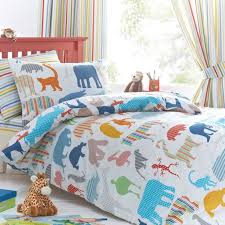 just kidding zoology double polycotton duvet cover set