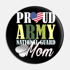 Army National Guard Mom Mom Mothers Day Women Gift