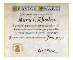 customer service award template long service award certificate template long service certificate