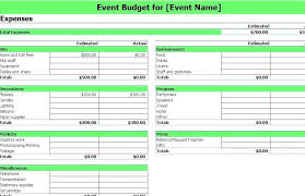 Marketing Budget Template In Excel Sample Expense Spreadsheet ...