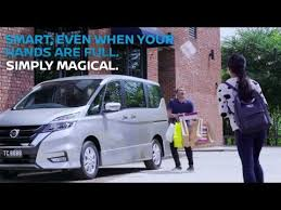 open for bookings all new nissan serena hands free dual power sliding door