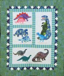 Patchwork Quilt Kits & Dinosaur Quilt by. The Country Quilter QUILT KIT Size 39