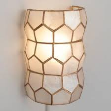 interior sconce lighting. Gold Capiz Wall Sconce Interior Lighting