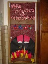 christmas themes for the office. Christmas Door Decorating Themes Office Decorations Image Detail For Holiday Contest With Great Salvage Show The R