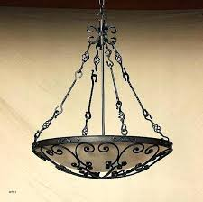 non electric chandelier