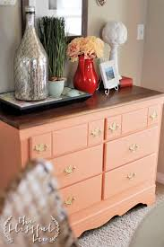 colorful painted furniture. CoralDresser5 Colorful Painted Furniture O