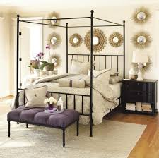 Good Design Wrought Iron Canopy Bed — Sourcelysis