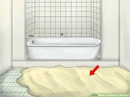 bathtub floor image titled replace a bathtub step bathtub floor repair inlay best bathtub floor mat bathtub floor