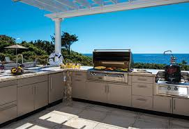 danver stainless outdoor kitchen