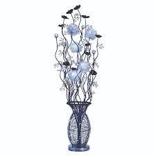 vase lighting ideas. Floor Lamps Contemporary Modern At The Range 90 Led Black Chrome And Crystal Vase Light Lighting Ideas A