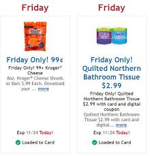 Kroger: $0.99 Kroger Cheese and $2.99 Quilted Northern Bathroom Tissue &  Adamdwight.com