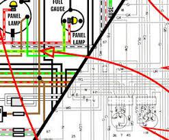 jaguar 420 sedan 1966 1968 color wiring diagram 11x17 image is loading jaguar 420 sedan 1966 1968 color wiring diagram