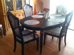 refinishing dining room chairs how to refinish a dining room table fresh with image of how