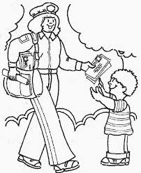 Community Helpers Coloring Sheets Community Coloring Pages Community