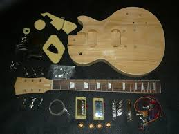 electric guitar kit lp style