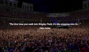 Wrigley Field Venue Tomorrows Verse